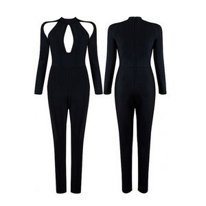 Xtaren Women's Black Jumpsuit size S